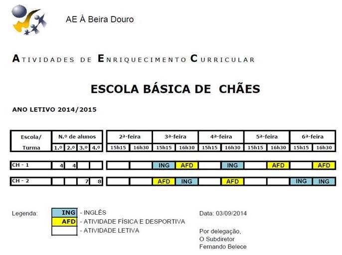 EB CHAES - 14-15