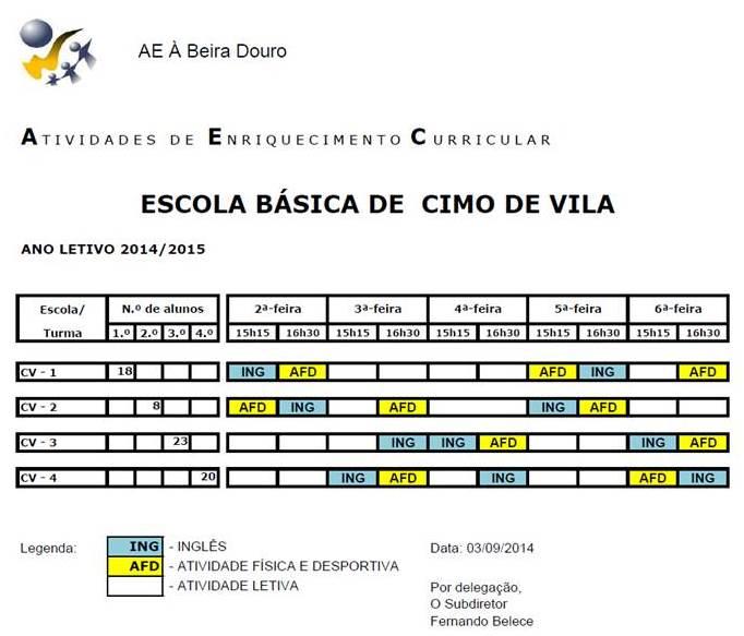 EB CIMO DE VILA - 14-15